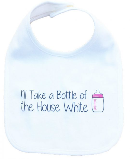 BOttle of house white