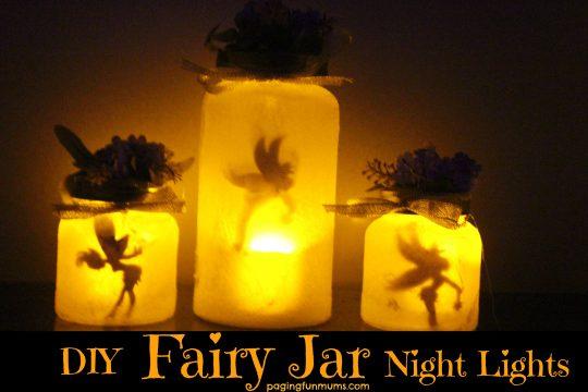 DIY Fairy Jar Night Lights