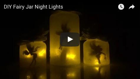 DIY Fairy Jar Night Lights Video