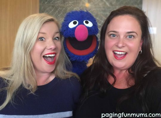 Grover meets Paging Fun Mums