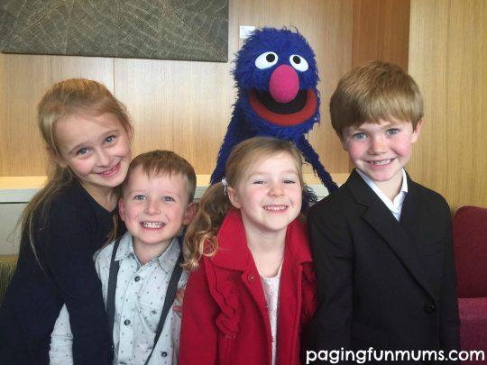 Paging Fun Mums kids meets Grover