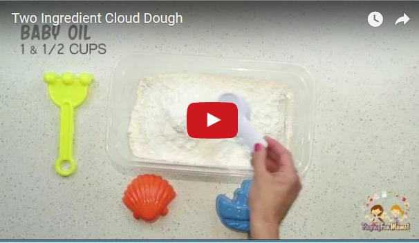 Two Ingredient Cloud Dough