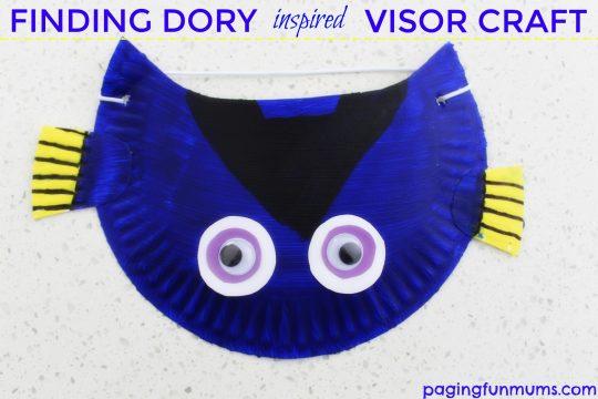 Finding Dory Inspired Visor Craft