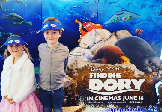 Finding Dory Movie Visors