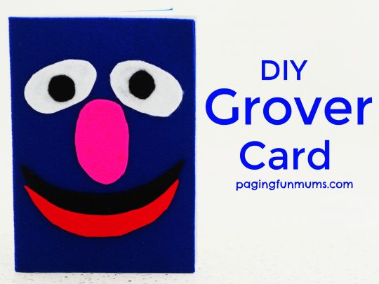 DIY Grover Card