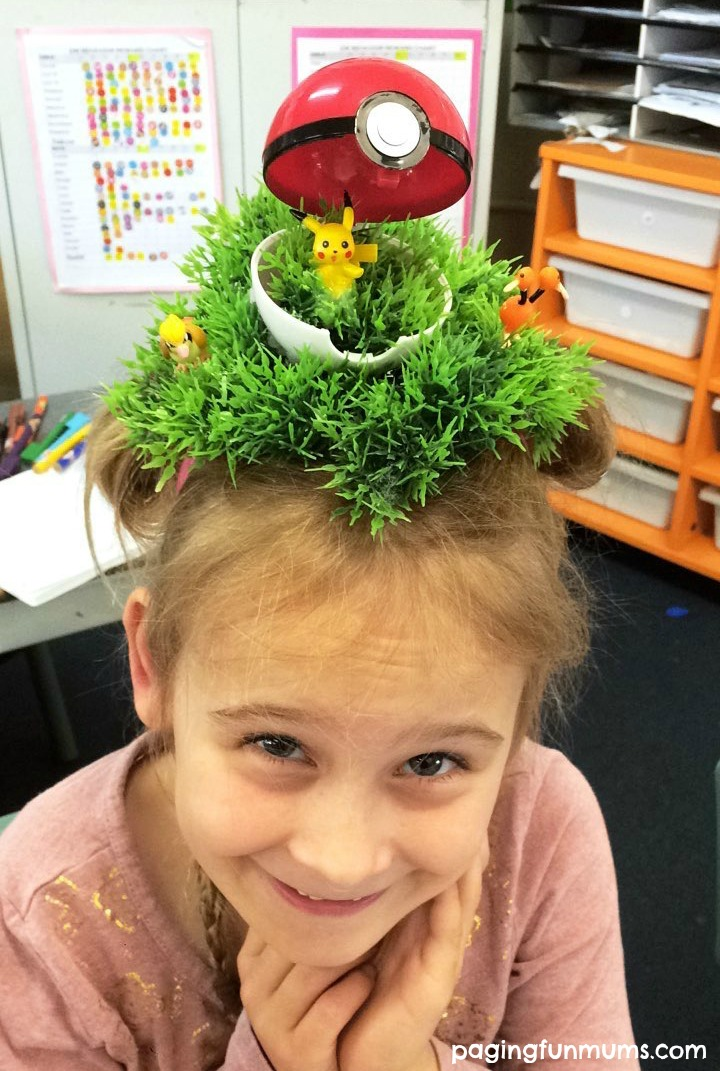 Crazy Hair Day – Pokemon Go Style!