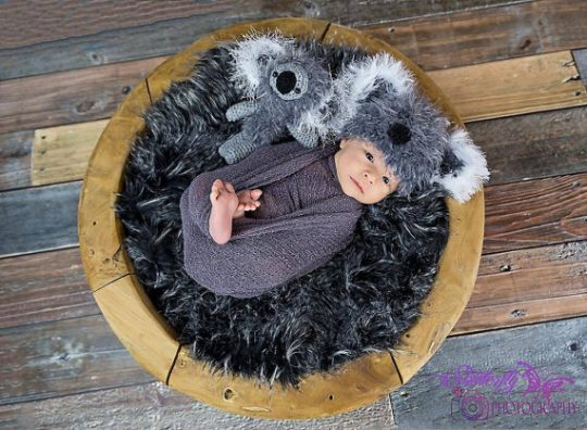Koala Crochet Toy and Beanie set
