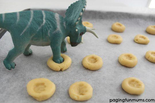 Dino Print Cookies