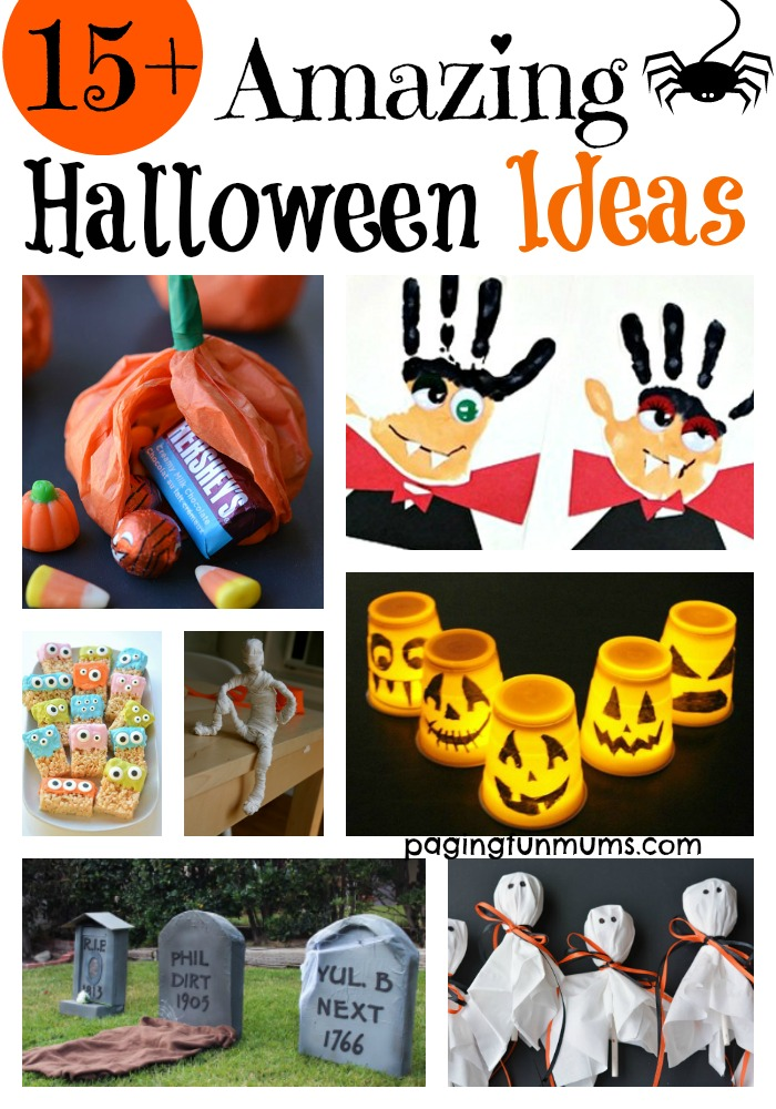 15+ Amazing Halloween Ideas