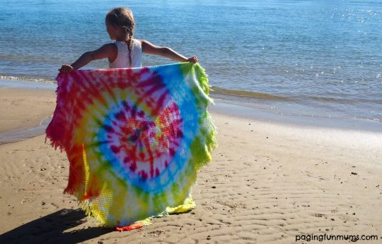 Easy Tie Dye Project!