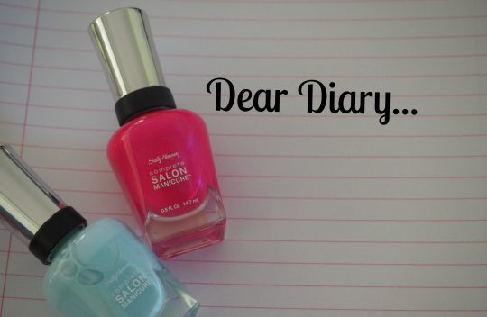 Sally Hansen Nail Polish Diary