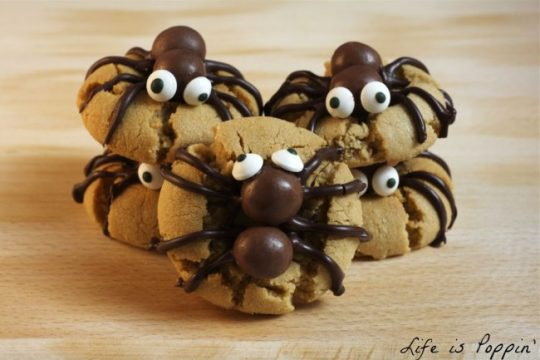 spooky-spider-cookies