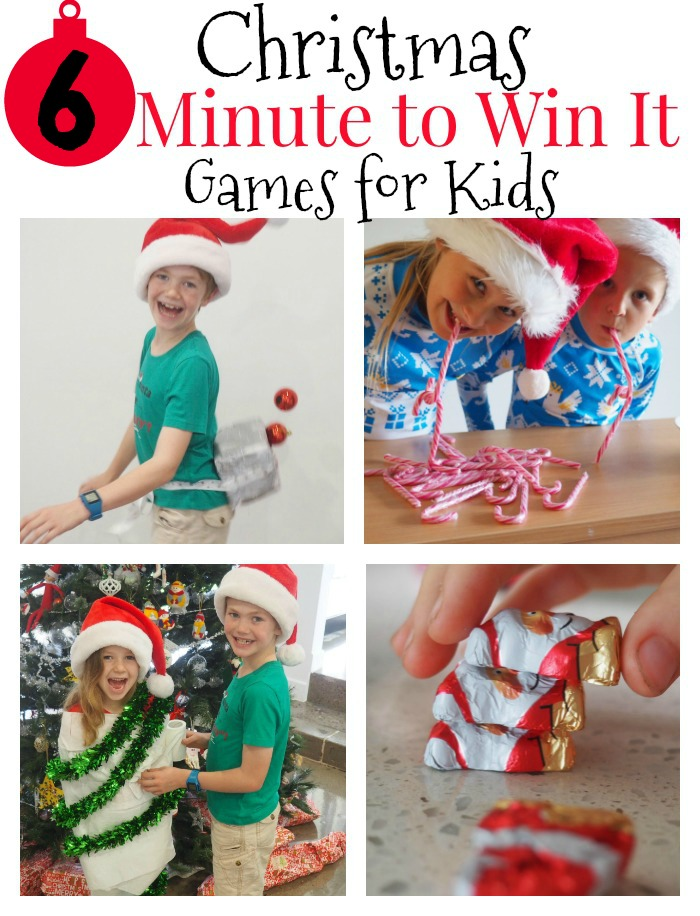 Minute To Win It Christmas.6 Christmas Minute To Win It Games For Kids Paging Fun Mums