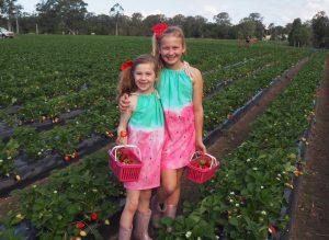 Strawberry Tie Dye Dress Tutorial